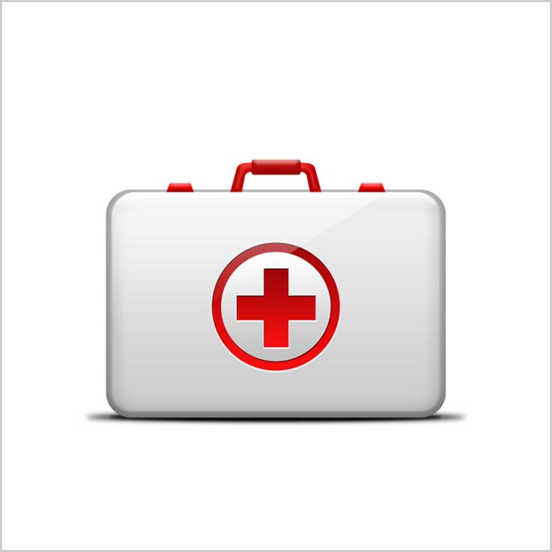 Аптечки и медицинское оборудование